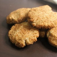 Chewy Ginger Maple Cookies (Gluten Free)